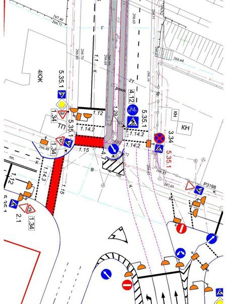 Небезпечну ділянку дороги на перетині вул. Під Дубом та просп. Чорновола розширять (ФОТО), фото-4