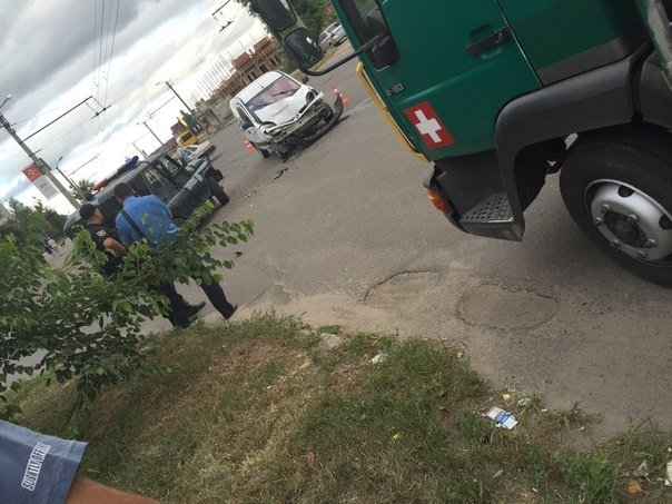 ФОТОФАКТ: на Таращанському поліцейські втрапили в ДТП, фото-3