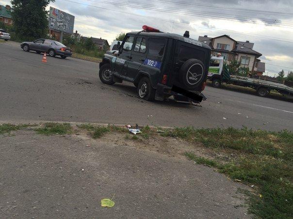 ФОТОФАКТ: на Таращанському поліцейські втрапили в ДТП, фото-1