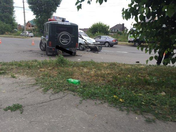 ФОТОФАКТ: на Таращанському поліцейські втрапили в ДТП, фото-2