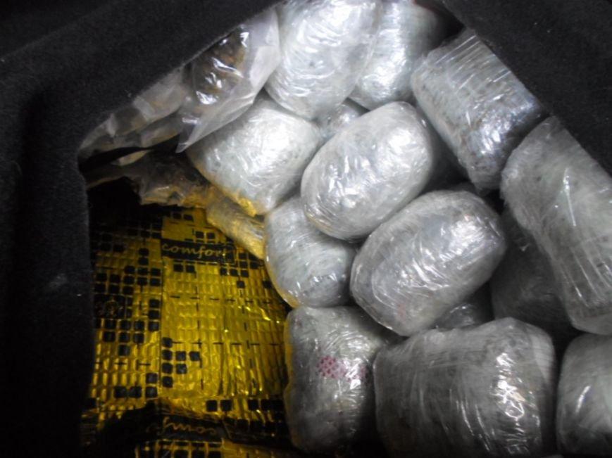 На границе Сумщины задержали женщину, которая везла в авто наркотиков на миллион гривен (ФОТО), фото-2