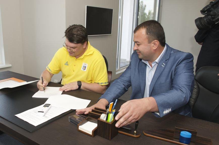 Подписание меморандума между Министерством молодежи и спорта и ЖК Олимпийский городок