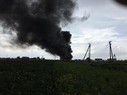 На виїзді зі Львова згоріла фура (ФОТО+ВІДЕО), фото-1