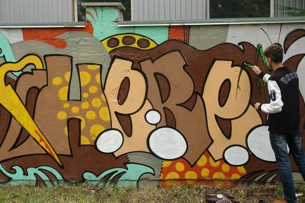 Вандалізм чи мистецтво? У Івано-Франківську відбувся фестиваль графіті. Фото, фото-5