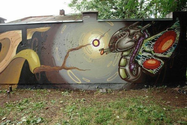Вандалізм чи мистецтво? У Івано-Франківську відбувся фестиваль графіті. Фото, фото-9