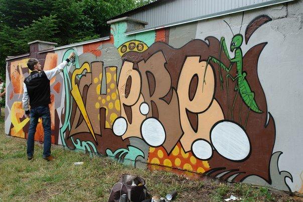 Вандалізм чи мистецтво? У Івано-Франківську відбувся фестиваль графіті. Фото, фото-6
