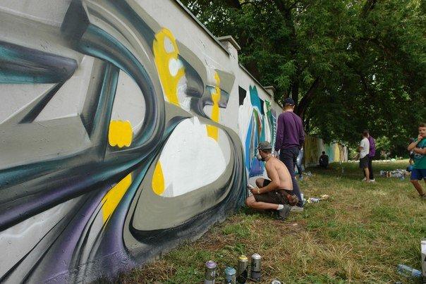 Вандалізм чи мистецтво? У Івано-Франківську відбувся фестиваль графіті. Фото, фото-7