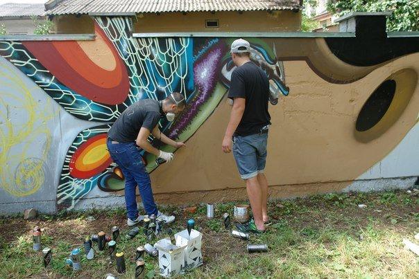 Вандалізм чи мистецтво? У Івано-Франківську відбувся фестиваль графіті. Фото, фото-2