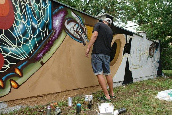 Вандалізм чи мистецтво? У Івано-Франківську відбувся фестиваль графіті. Фото, фото-18