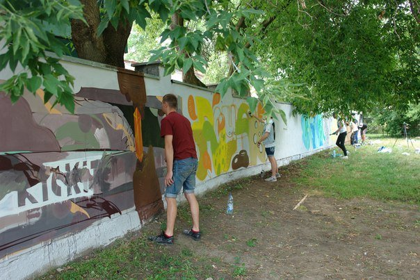 Вандалізм чи мистецтво? У Івано-Франківську відбувся фестиваль графіті. Фото, фото-4
