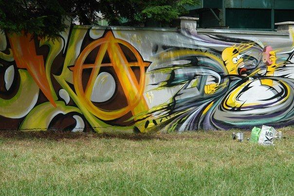 Вандалізм чи мистецтво? У Івано-Франківську відбувся фестиваль графіті. Фото, фото-12