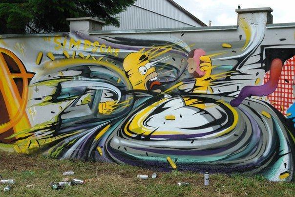 Вандалізм чи мистецтво? У Івано-Франківську відбувся фестиваль графіті. Фото, фото-11