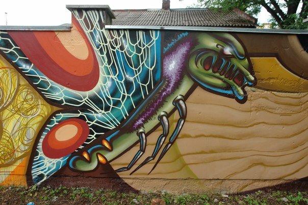 Вандалізм чи мистецтво? У Івано-Франківську відбувся фестиваль графіті. Фото, фото-16