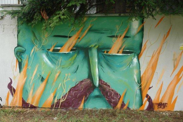 Вандалізм чи мистецтво? У Івано-Франківську відбувся фестиваль графіті. Фото, фото-19