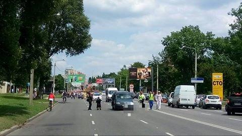 На Окружной дороге столкнулись иномарки: двое пострадавших (ФОТО), фото-1