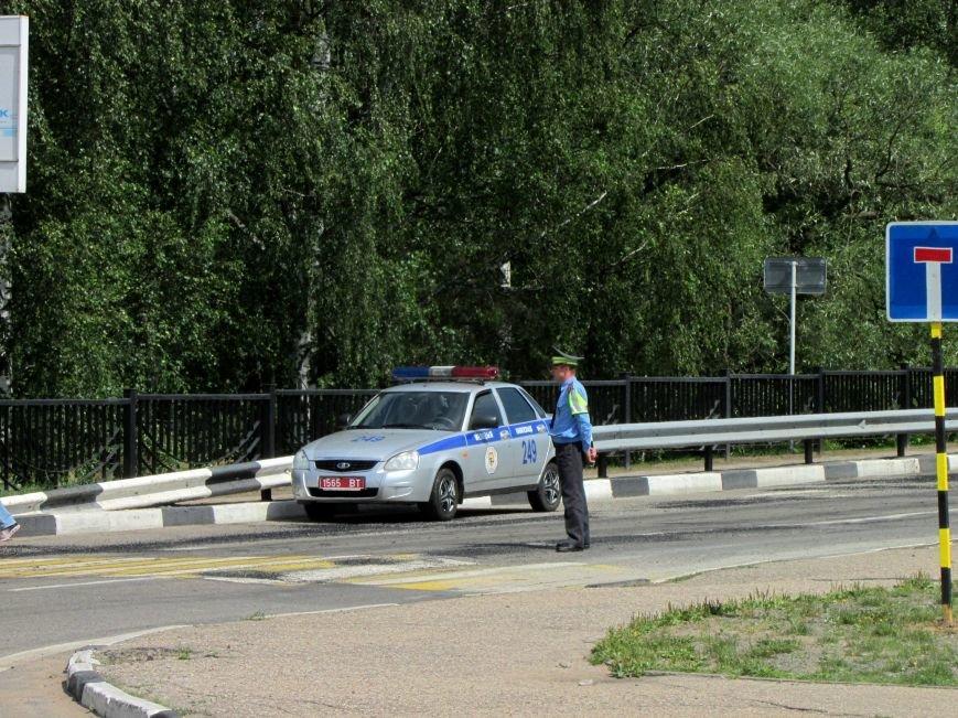 Движение по мосту через Западную Двину в Новополоцке закрыто. Фотофакт, фото-1