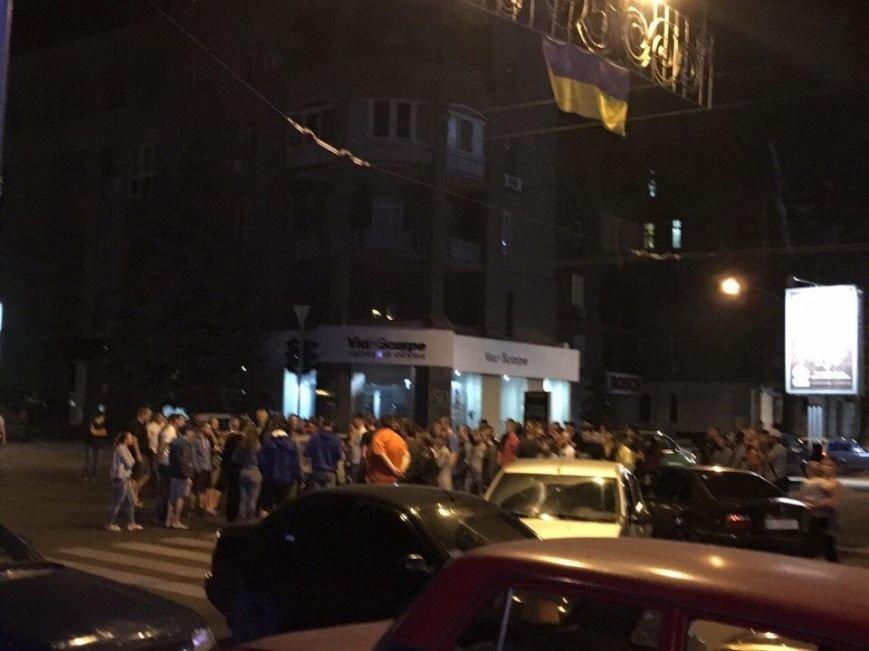Смертельная авария с участием патрульных: харьковчане блокировали улицу Сумскую, фото-1