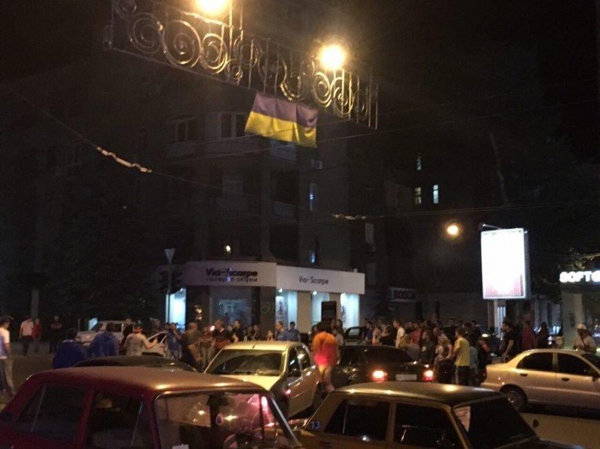 Смертельная авария с участием патрульных: харьковчане блокировали улицу Сумскую, фото-3