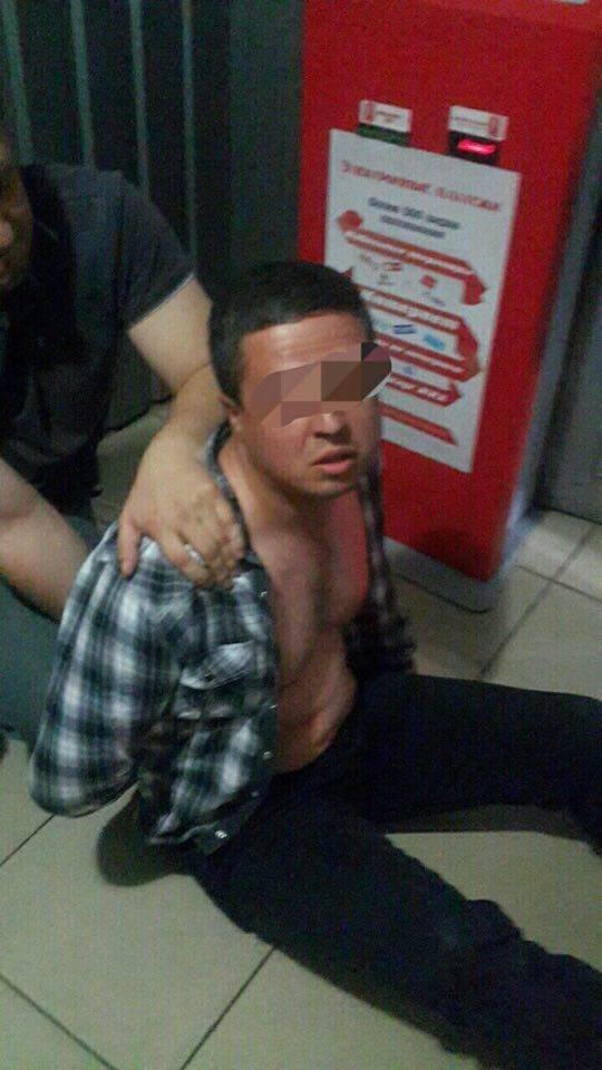Полиция задержала гражданина Грузии, который убил человека на Рымарской (ФОТО), фото-1
