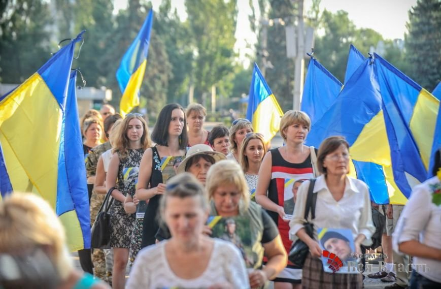 В Запорожье почтили жертв трагедии под Зеленопольем, фото-1