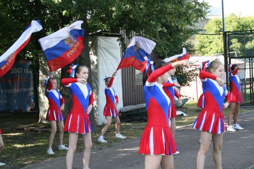 Чемпионы Европы открыли своим выступлением футбольный турнир в Новой Москве, фото-5