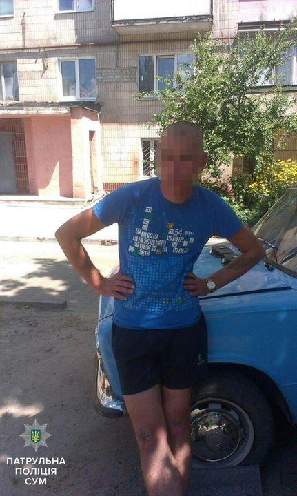 В Сумах на СКД поймали вора аккумулятора (ФОТО), фото-1