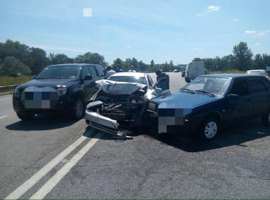 В Харькове масштабное ДТП: на Окружной дороге столкнулись пять машин (ФОТО), фото-2