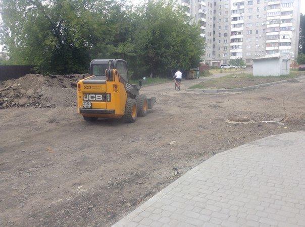 Як проходять ремонтні роботи на вулиці Порічковій (ФОТО), фото-7