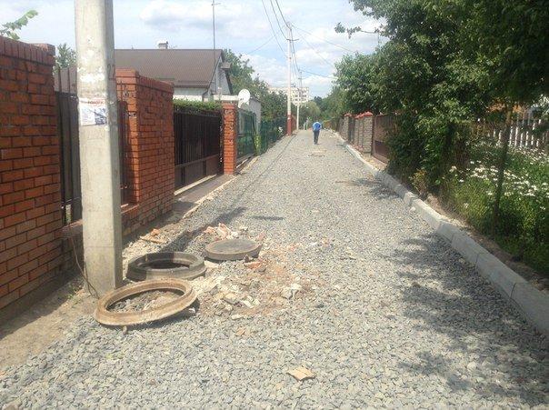 Як проходять ремонтні роботи на вулиці Порічковій (ФОТО), фото-6