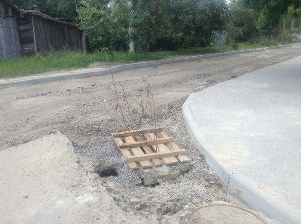 Як проходять ремонтні роботи на вулиці Порічковій (ФОТО), фото-8