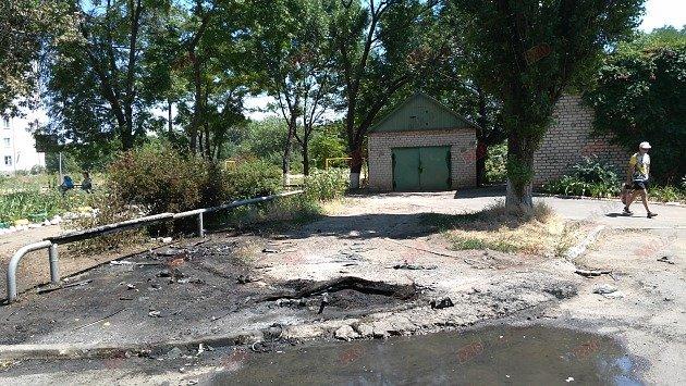 В Бердянске сожгли внедорожник прокурора (ФОТОФАКТ), фото-1