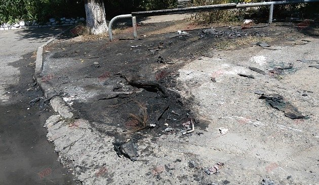 В Бердянске сожгли внедорожник прокурора (ФОТОФАКТ), фото-2