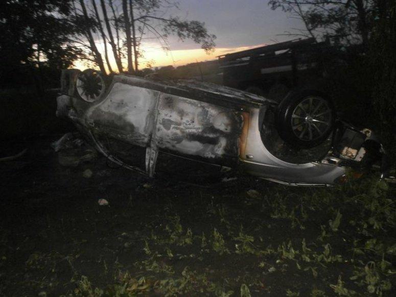 ДТП на Сумщине: в автомобиле сгорела женщина (ФОТО), фото-1