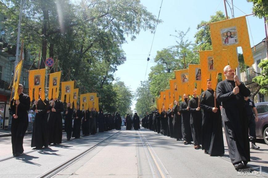 В Одессе прошел крестный ход православной церкви Московского патриархата (фото), фото-1