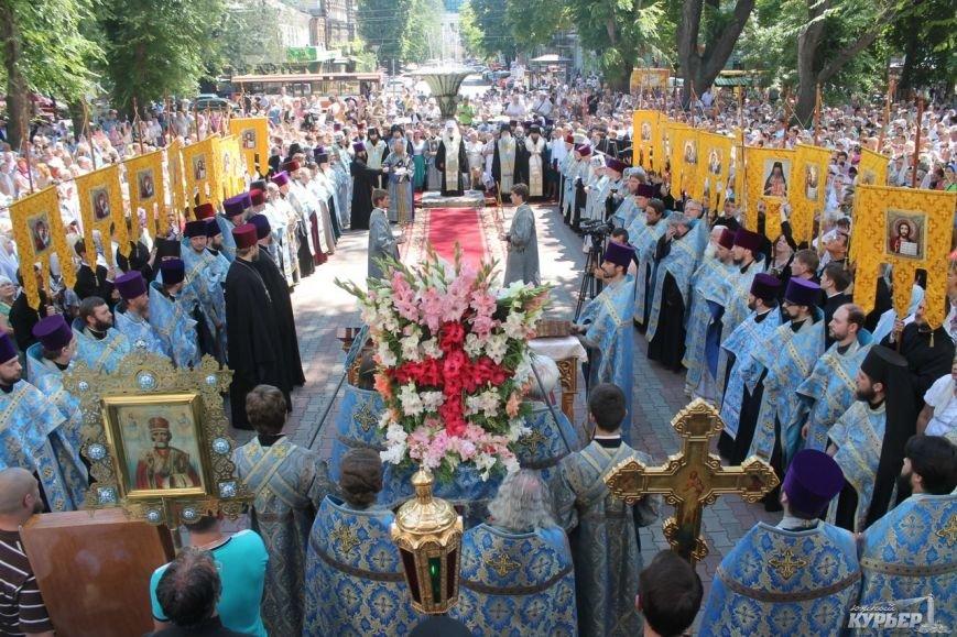 В Одессе прошел крестный ход православной церкви Московского патриархата (фото), фото-5