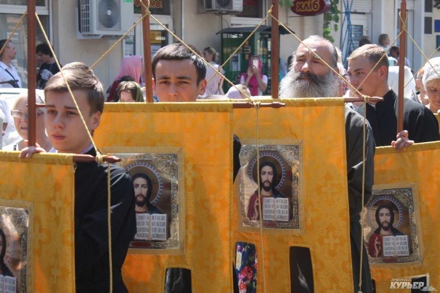В Одессе прошел крестный ход православной церкви Московского патриархата (фото), фото-2