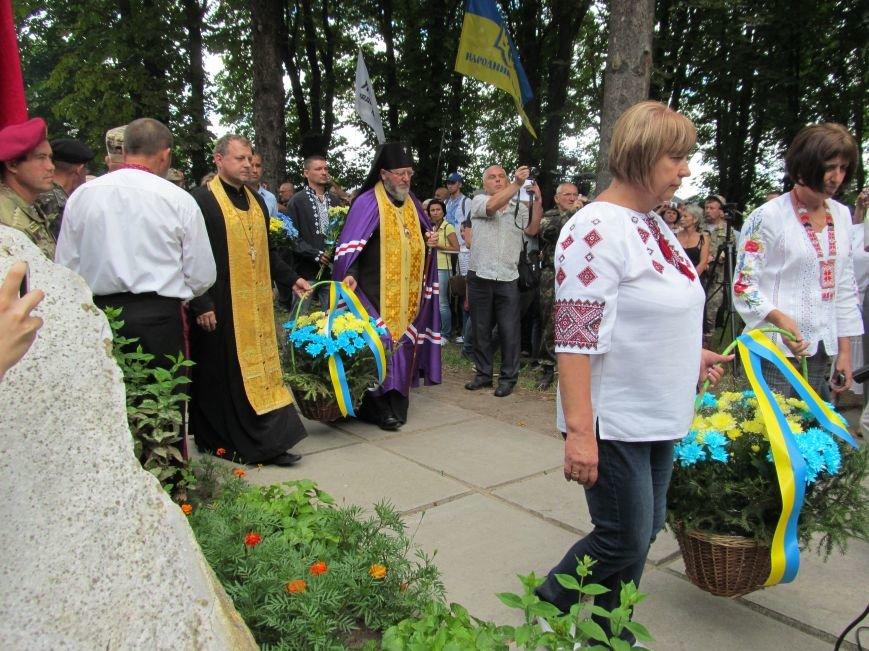 Бахмутские казаки приняли участие в праздновании 357-й годовщины Конотопской битвы, фото-2