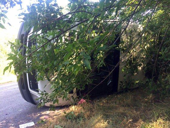 По пути в Бердянск перевернулась маршрутка: пострадали 10 человек (ФОТО), фото-2