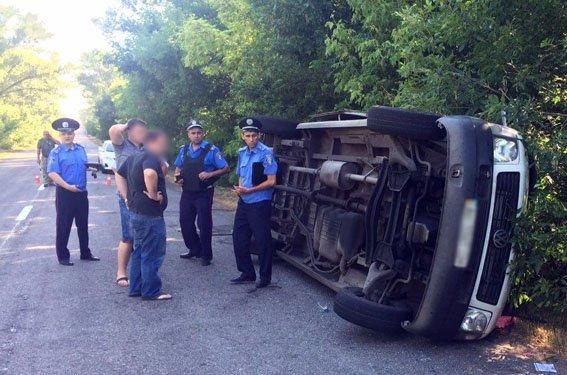 По пути в Бердянск перевернулась маршрутка: пострадали 10 человек (ФОТО), фото-3