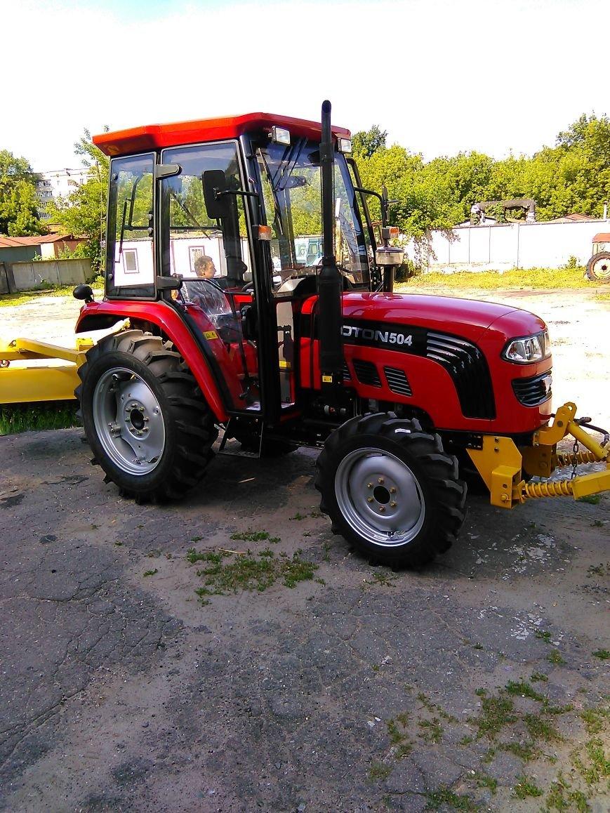 На КП «Сумыжилкомсервис» появился трактор за 410 000 грн (ФОТО), фото-1