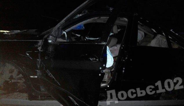 """Поблизу Тернополя перекинувся автомобіль """"BMW X5"""". Водій загинув (ФОТО - Оновлено), фото-1"""