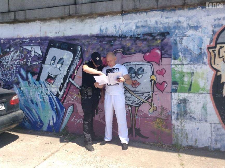 В Запорожье на Набережной разбирают площадку, прилегающую к кафе экс-депутата, фото-4