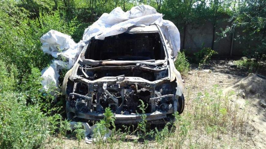 В Запорожской области сгорела очередная иномарка (ФОТОФАКТ), фото-1