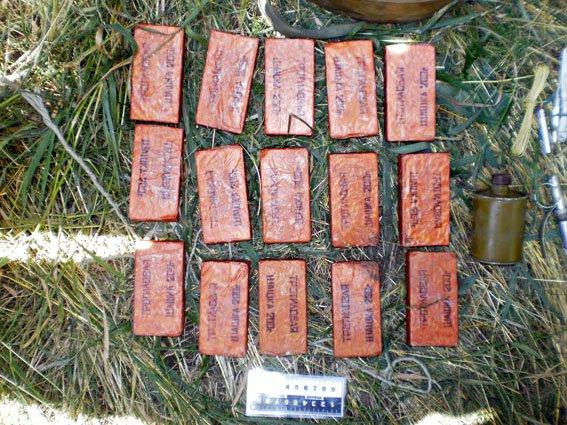 Бахмут схрон взрывчатки 14.07 4