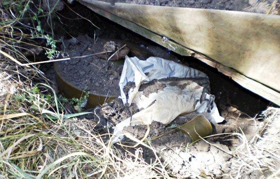 Бахмут схрон взрывчатки 14.07 2