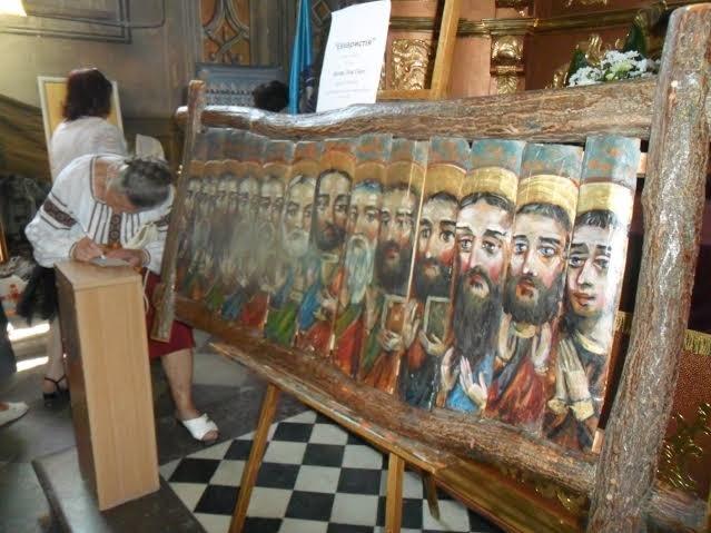"""""""Купи ікону – допоможи війську"""": львівські іконописці влаштували благодійну акцію (ФОТО), фото-5"""