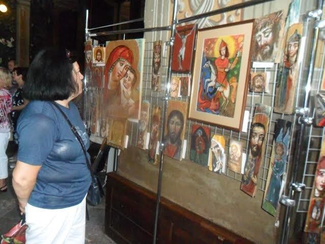 """""""Купи ікону – допоможи війську"""": львівські іконописці влаштували благодійну акцію (ФОТО), фото-1"""