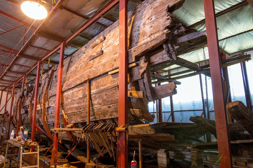 На Хортице реставраторы восстанавливают древние суда, - ФОТОРЕПОРТАЖ, фото-22