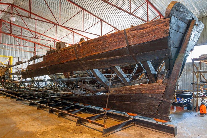 На Хортице реставраторы восстанавливают древние суда, - ФОТОРЕПОРТАЖ, фото-20