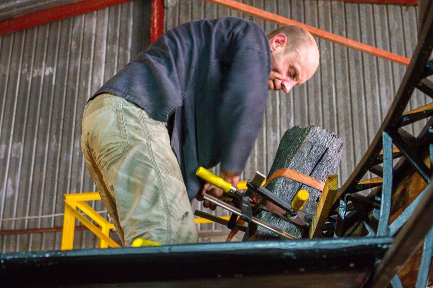 На Хортице реставраторы восстанавливают древние суда, - ФОТОРЕПОРТАЖ, фото-7